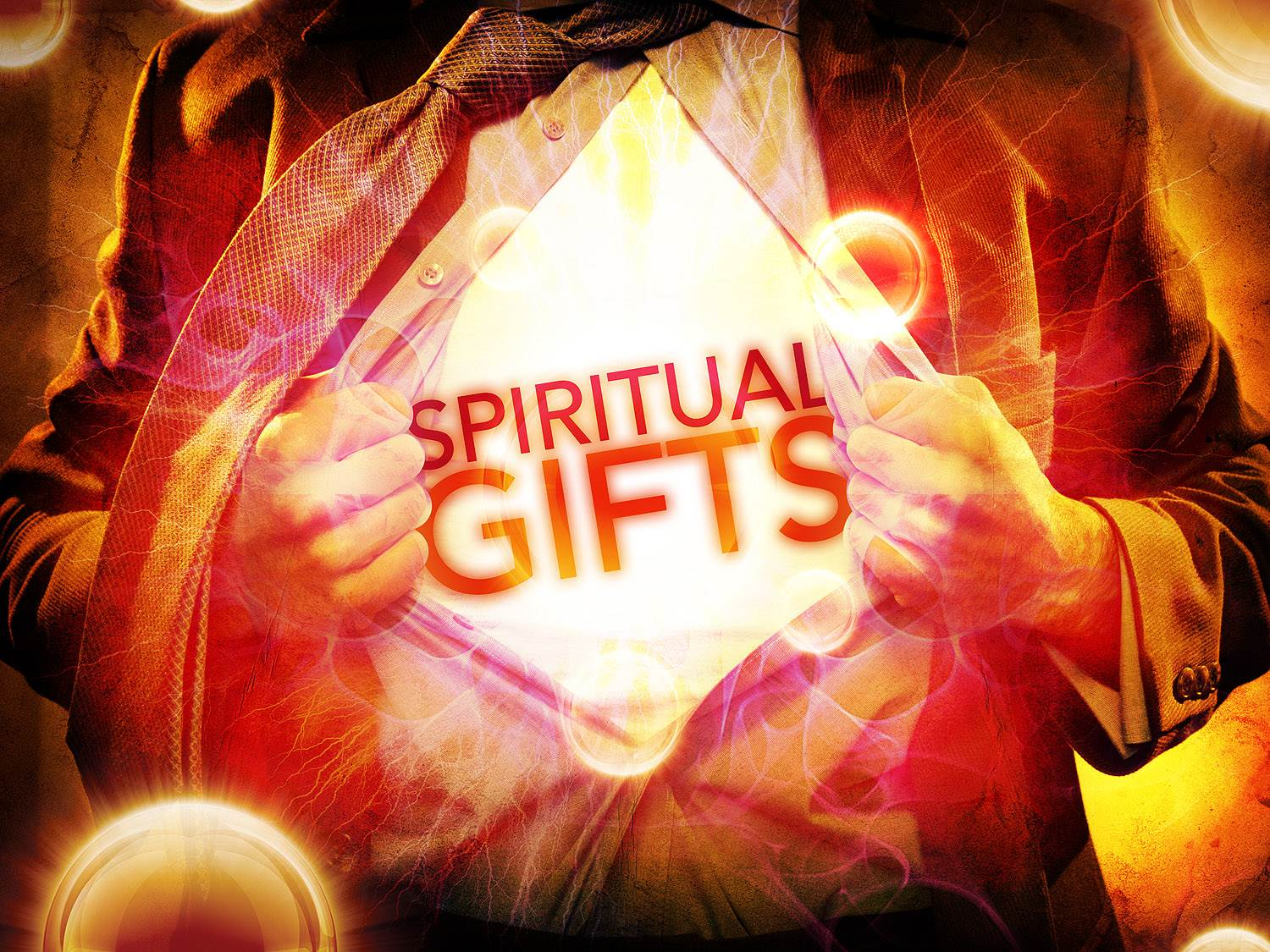 Spiritual gifts: Faith, Miraculous Powers, Tongues, Interpretation of Tongues, Helps, Administration
