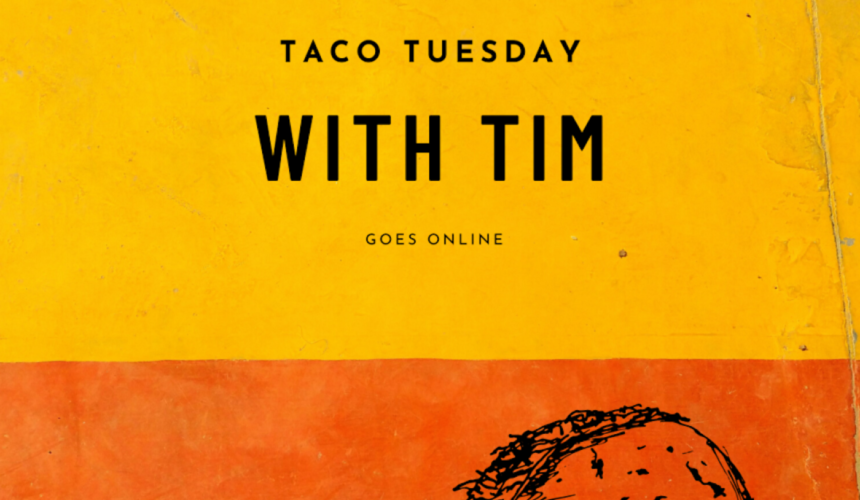 Taco Tue with time goes online: Spiritural gifts and healing